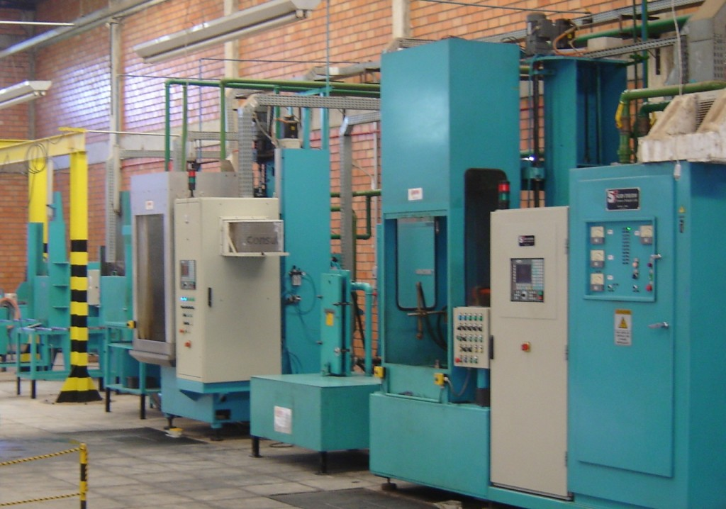 Fabrica Maquinas de Produção